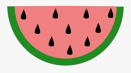 watermelon slice clipart transparent clip clipartkey
