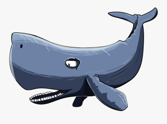 Sperm Whale 3170560 1280 Cartoon Whale Mouth Open Free Transparent Clipart ClipartKey