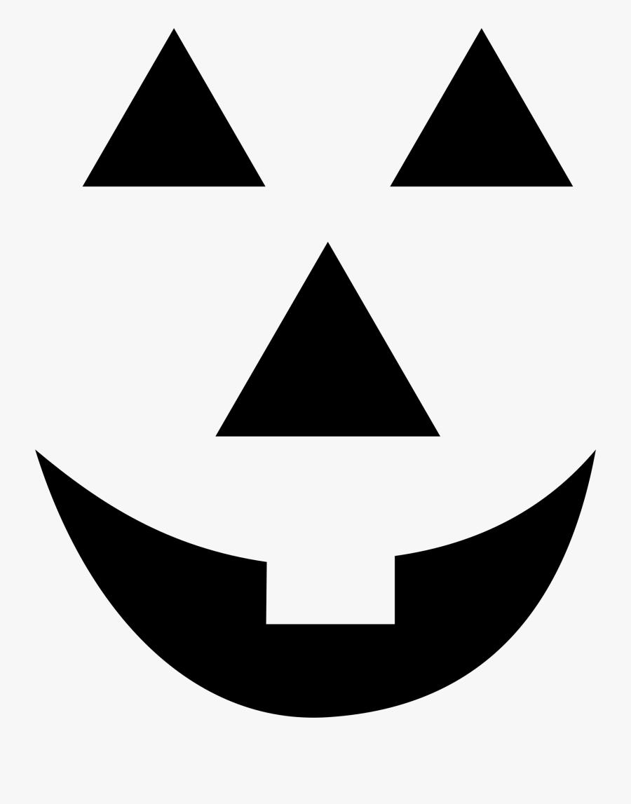 Jack O'lantern Faces : o'lantern, faces, Black, White, Lantern, Simple, Transparent, Clipart, ClipartKey