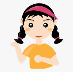 Girl Clipart Student Cartoon Girl Transparent Background Free Transparent Clipart ClipartKey
