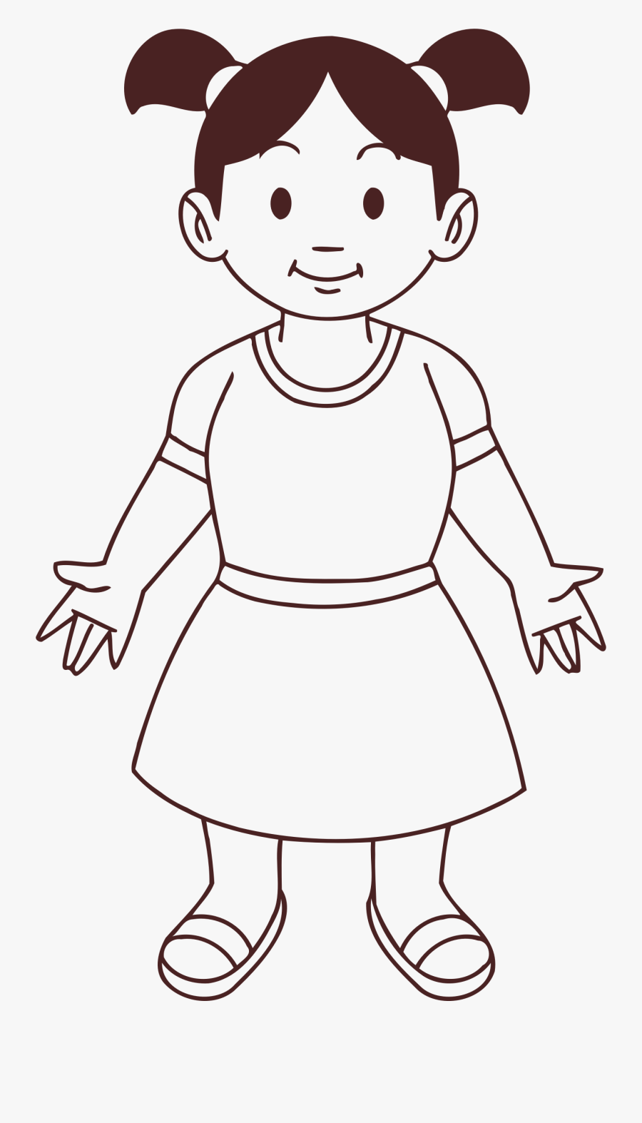 Kid Drawing Clipart : drawing, clipart, Clipart, Drawing, Transparent, ClipartKey
