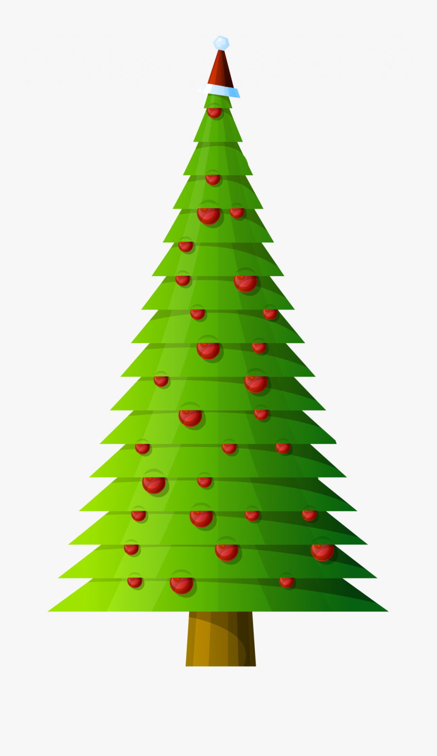 Christmas Tree Clipart Free : christmas, clipart, Christmas, Clipart, Border, Transparent, ClipartKey