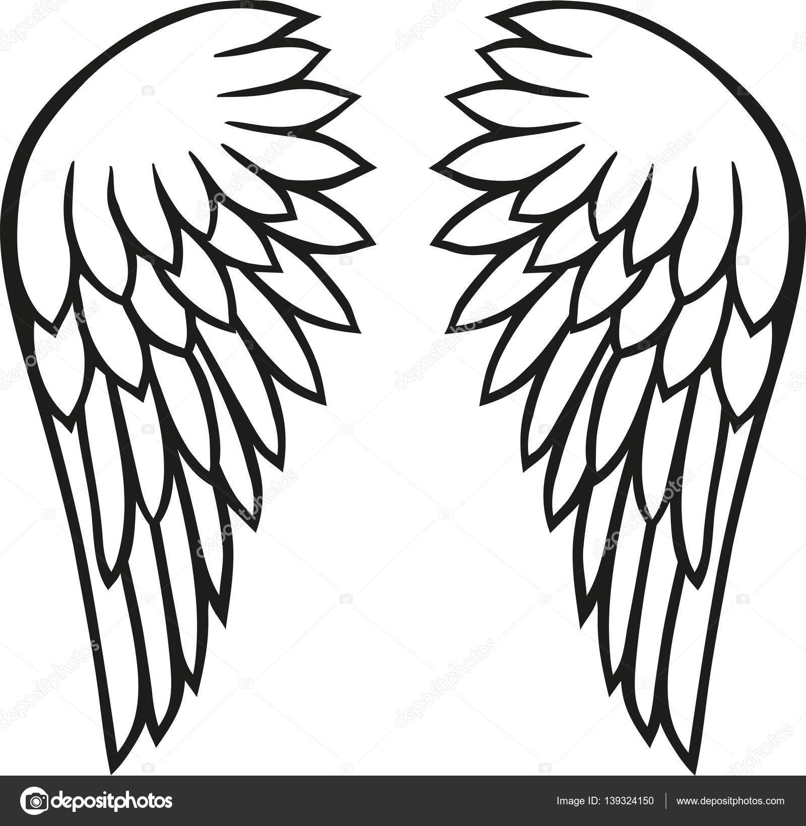 Angel Simple Drawing Free download on ClipArtMag