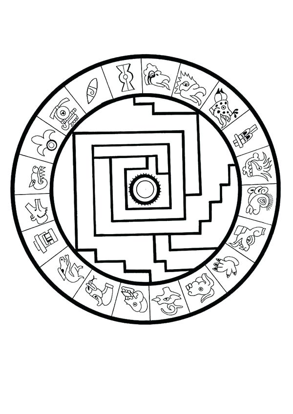 20+ New For Easy Aztec Calendar Drawings