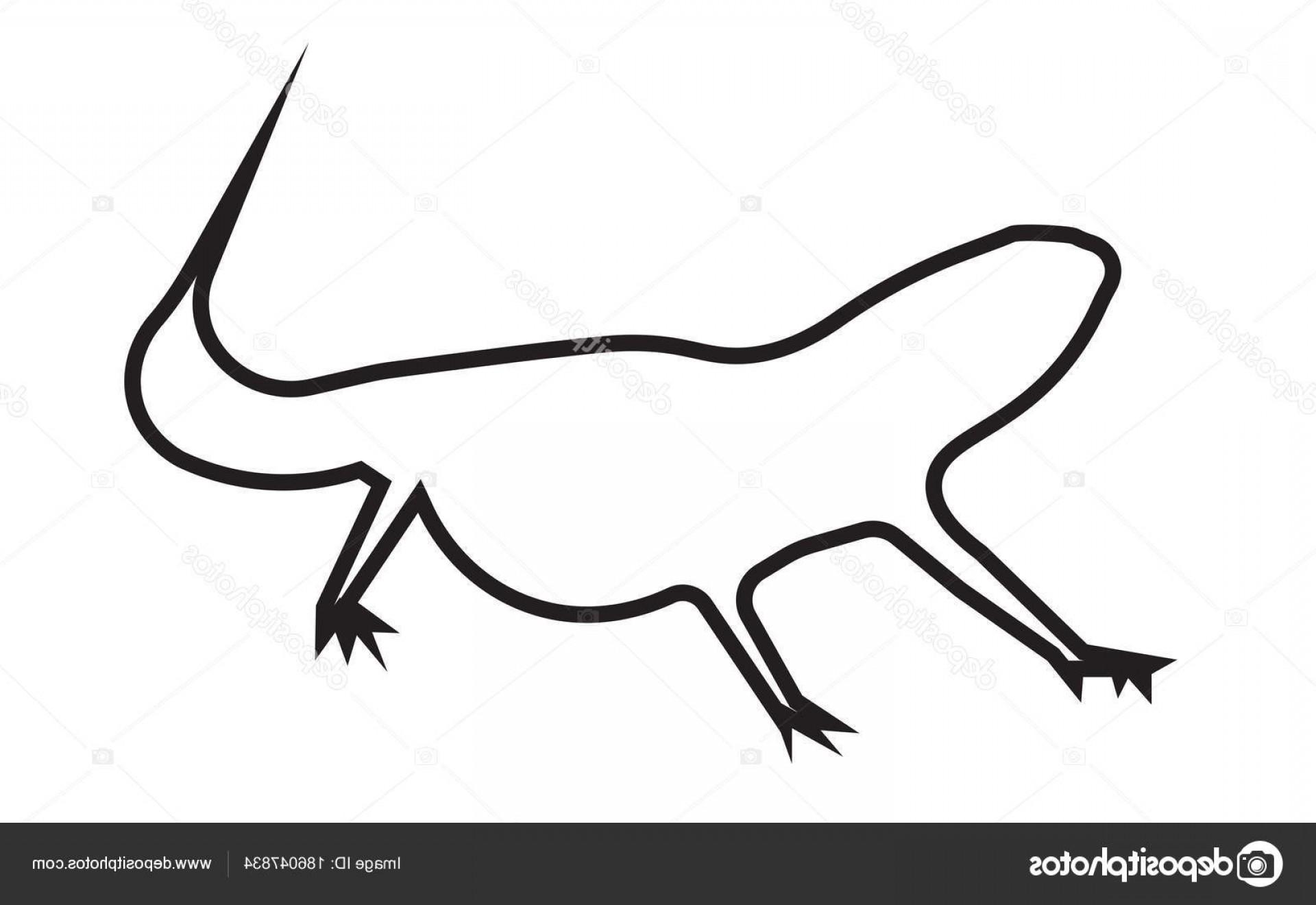 Bearded Dragon Drawing