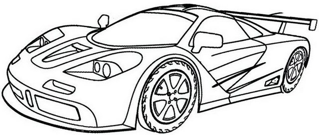 Supercars Gallery: Supercar Bugatti Coloring Pages