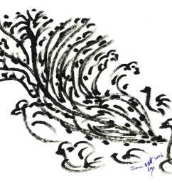 1073x890 bird drawing [ 1073 x 890 Pixel ]