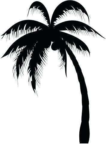 Easy Palm Tree Silhouette Painting Arte Inspire