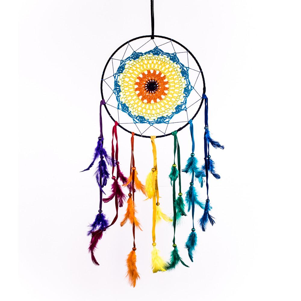 colorful dream catcher drawing