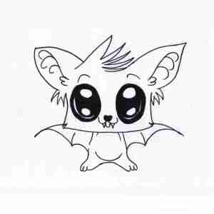 cool anime drawings easy draw animal clipartmag