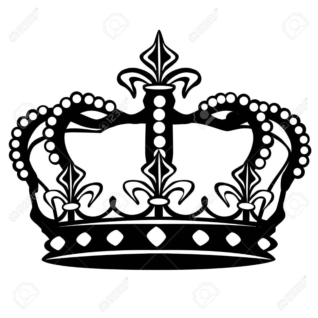 Crown Drawing Vector