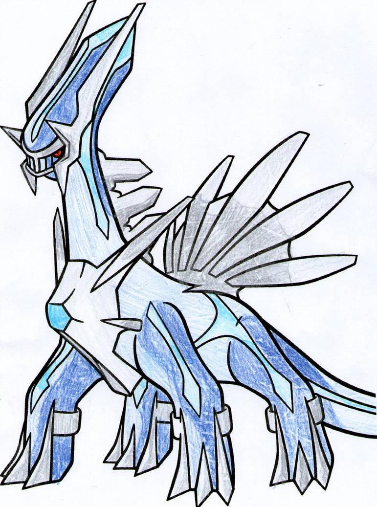 dialga drawing free download