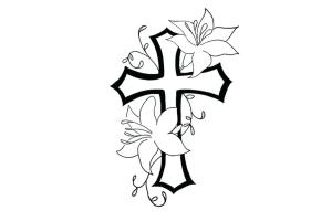 cool draw drawing designs easy dragon drawings flower simple flowers coloring pages graffiti pattern patterns cross rose crosses line beginners