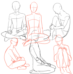 Drawing Body Poses Free download on ClipArtMag