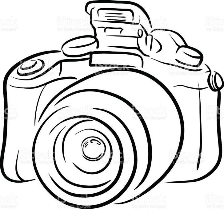 20+ Inspiration Camera Drawing Easy Cute