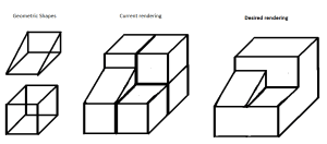 3d shape complex opengl shapes geometric draw drawing using geometry edges clipartmag lines rendering