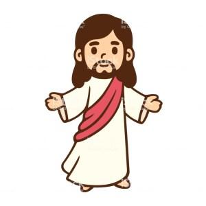 jesus drawing easy cartoon clipartmag