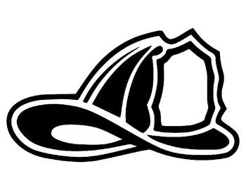 firefighter helmet drawing free