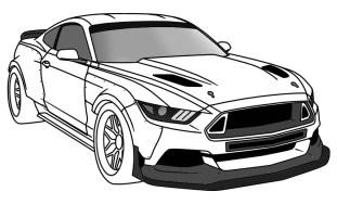 Top Auto Modelle Ford Mustang Gt Ausmalbilder