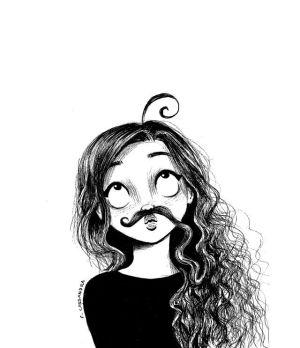 drawing curly cartoon cassandra drawings dibujos comics sketches desenhos character doce amor engracados hermosos realistic uploaded nice humoraddiction dezdemon pw