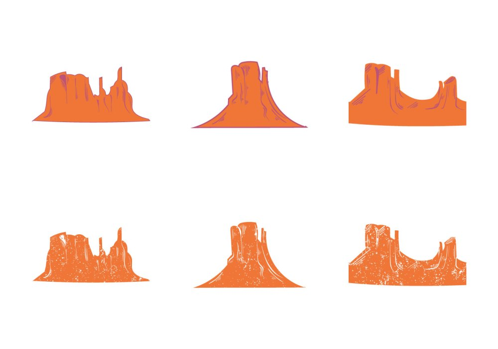 medium resolution of 1400x980 free grand canyon vector silhouette