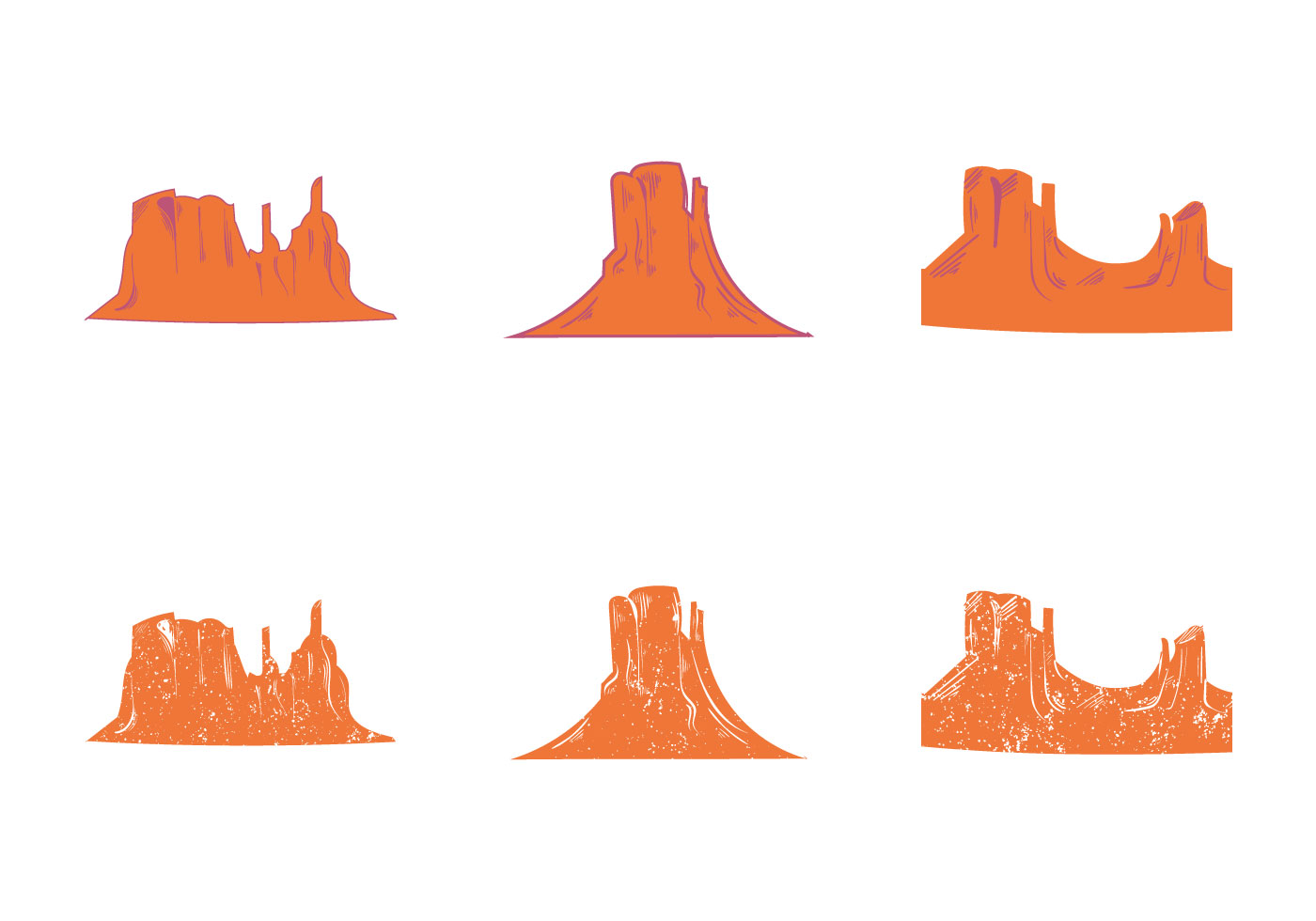 hight resolution of 1400x980 free grand canyon vector silhouette