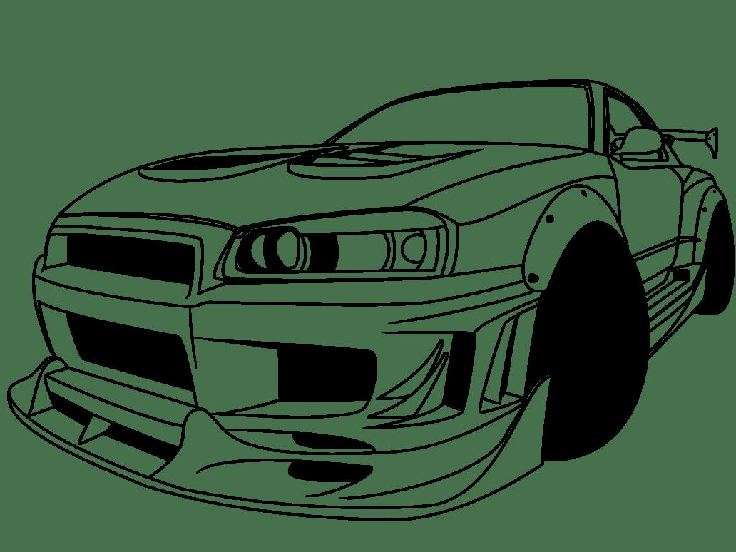 Gtr R35 Drawing