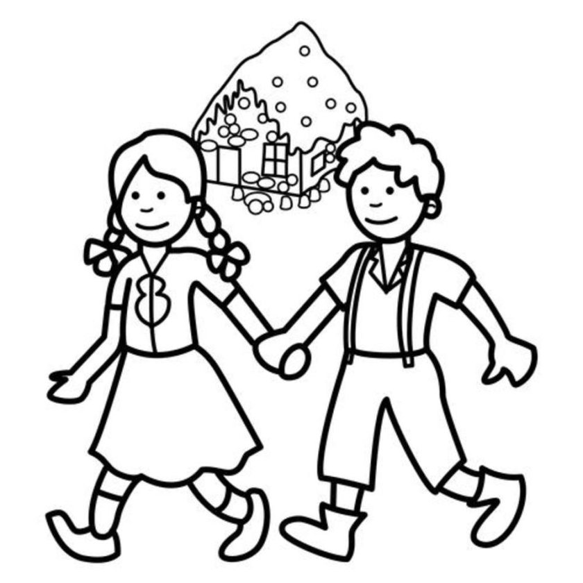 hansel and gretel drawing  free download on clipartmag