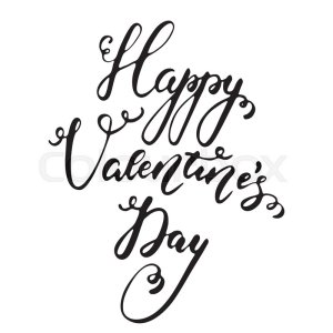 happy drawings valentines valentine clipartmag
