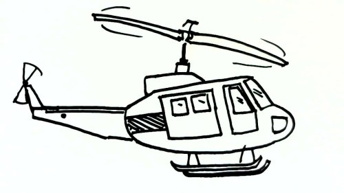 small resolution of 1280x720 helicopter drawing for kid and helicopter drawing easy helicopter