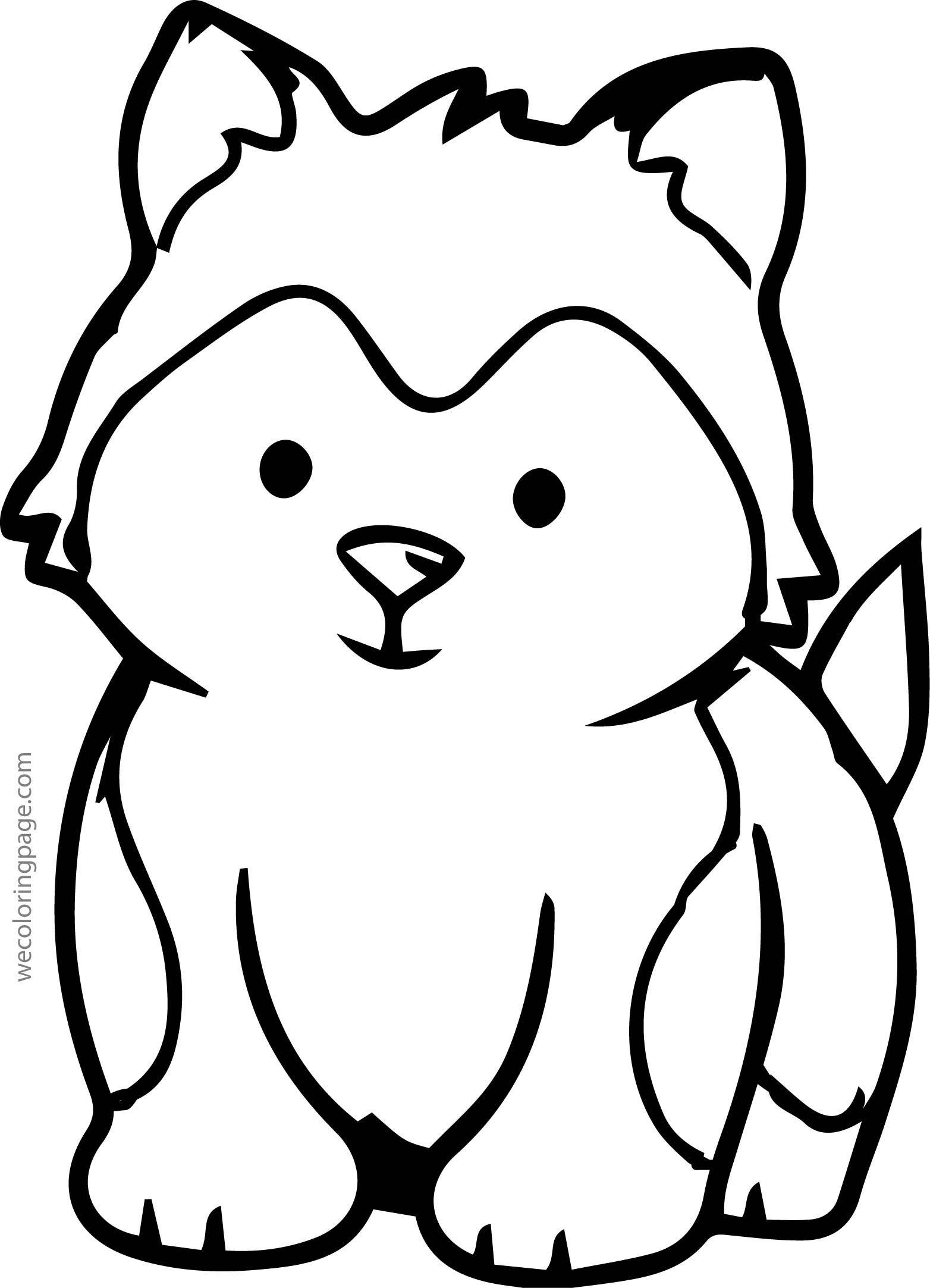 Husky Drawing Easy