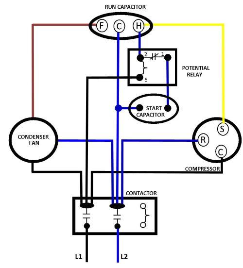 small resolution of 1025x1132 phase ac compressor wiring diagram wiring diagram