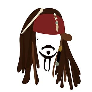 jack sparrow drawing free