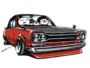 drawings jdm cars tuner illustration ozizo nissan cartoon clipartmag cool sketch mame truck crazy line