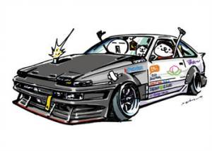 jdm ozizo mame crazy drawings cars driftcar illustration ae86 deviantart explore drift japanese stickers イラスト sketch project clipartmag subaru racecar