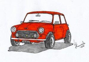 mini jdm austin drawings clipartmag draw artistic results