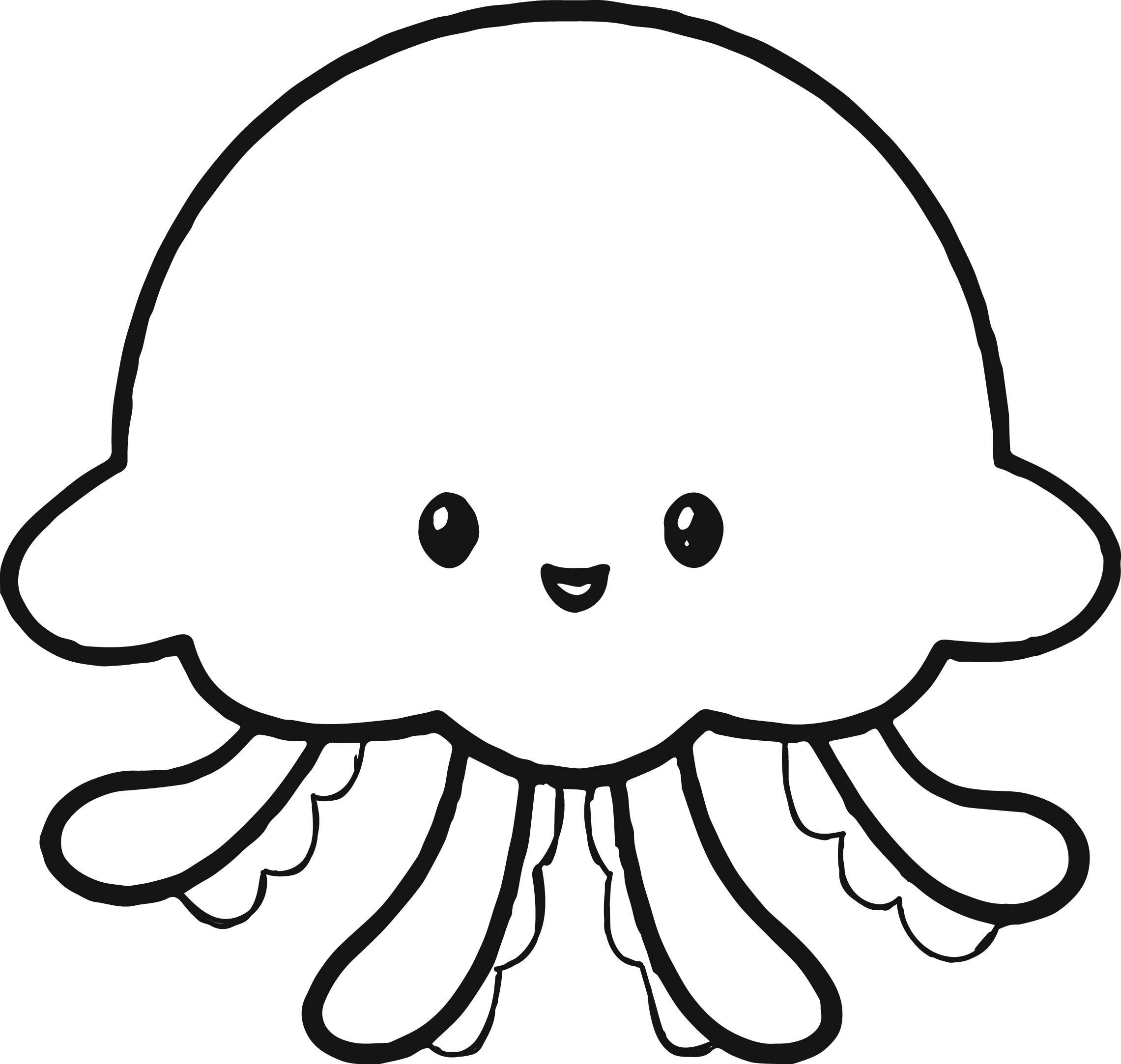 Jellyfish Tattoo Drawing