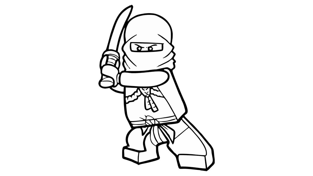 Lego Ninjago Drawing Free download on ClipArtMag