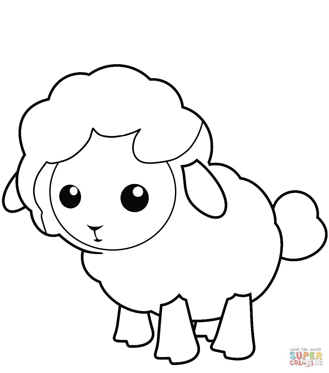 Lion And Lamb Drawing