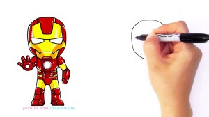 iron drawing face step cartoon draw easy pencil drawings clipartmag paintingvalley