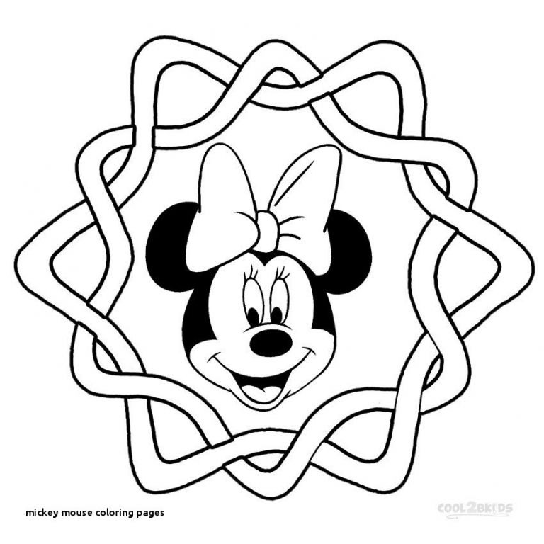 Mickey Mouse Drawing For Kids Free download on ClipArtMag