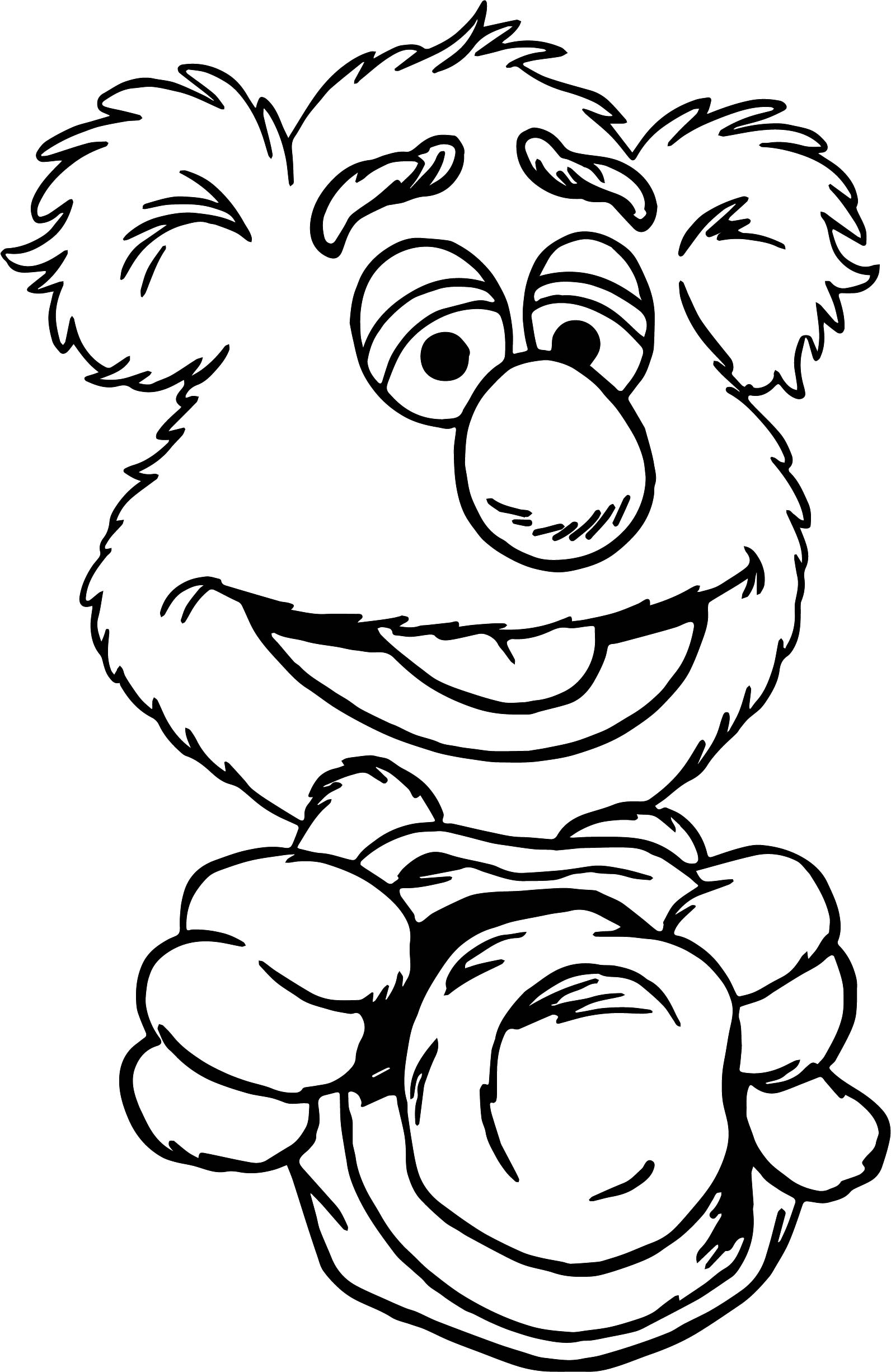 Muppets Animal Drawing