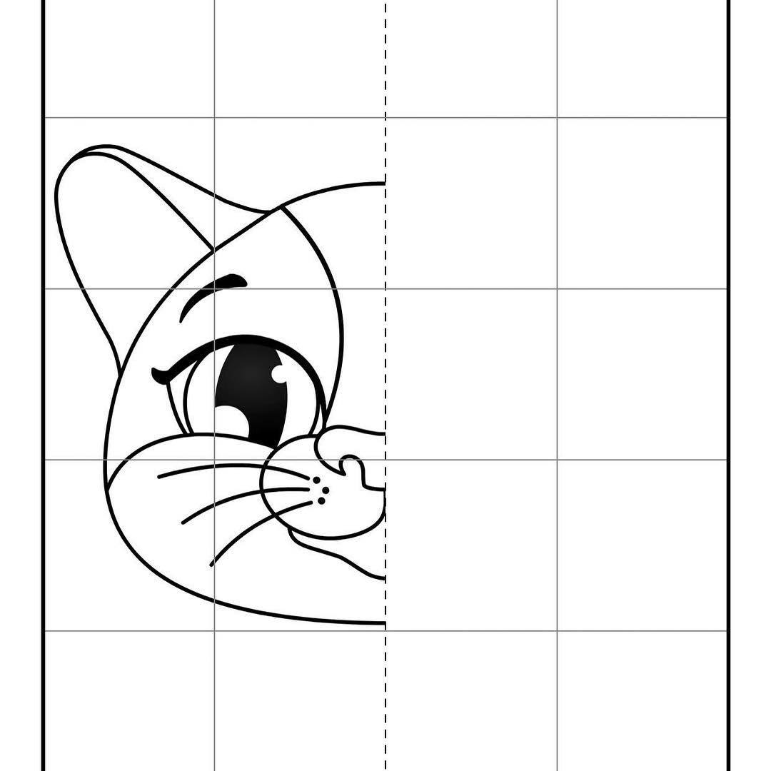 Mystery Grid Drawing Worksheets