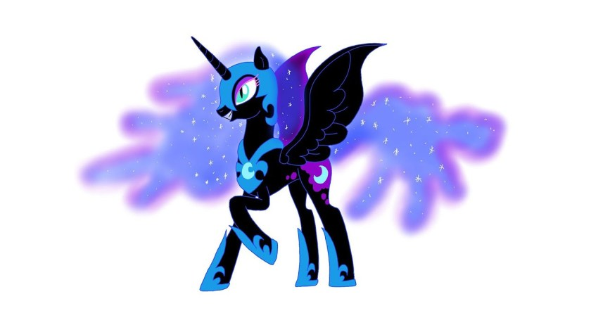 nightmare moon drawing  free download on clipartmag