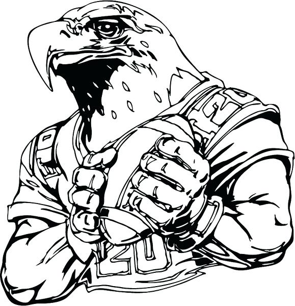 philadelphia eagles coloring pages # 26
