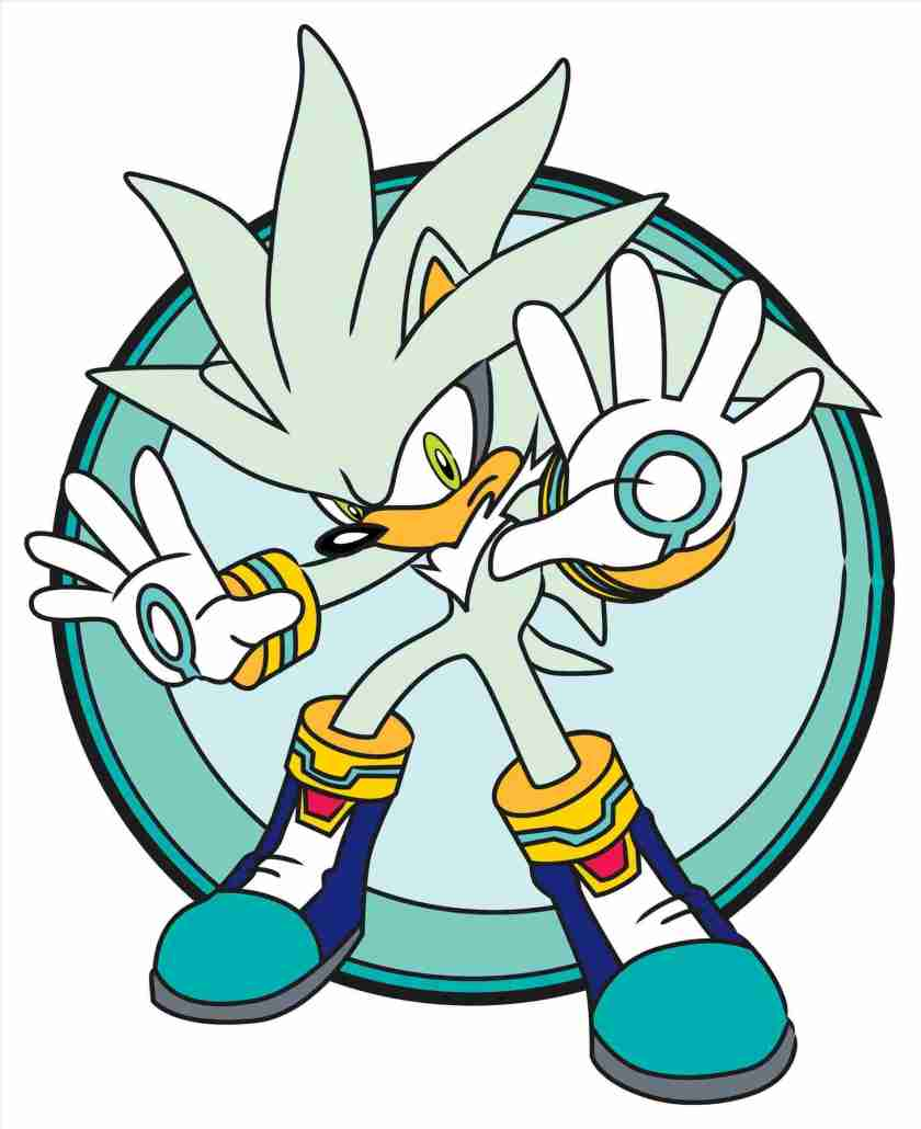 silver the hedgehog drawing  free download on clipartmag