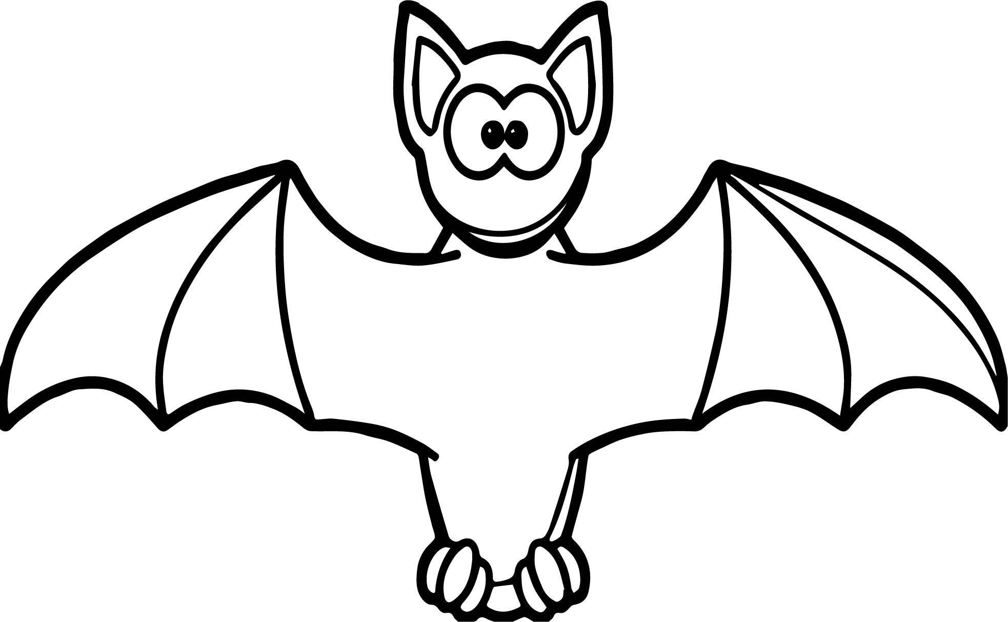 Simple Bat Drawing