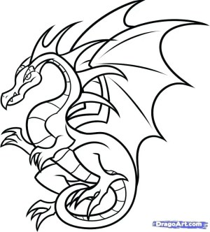 dragon fire drawing simple breathing easy draw dragons clipartmag