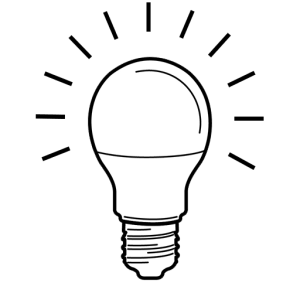 drawing bulb simple lightbulb energy fashioned clipartmag drawings paintingvalley