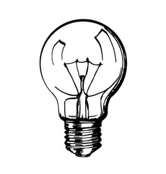 bulb simple drawing drawn clipartmag
